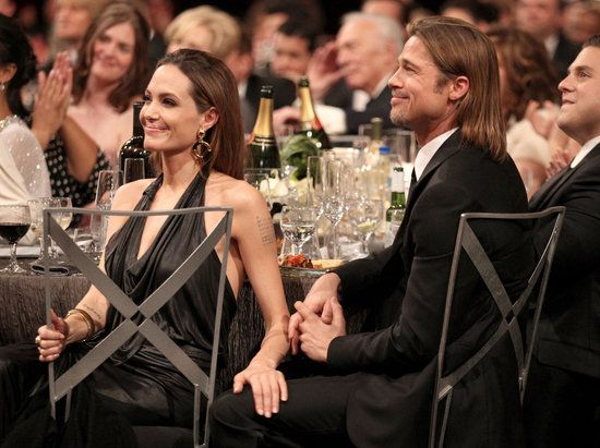 Brad and Angelina at the SAG Awards!