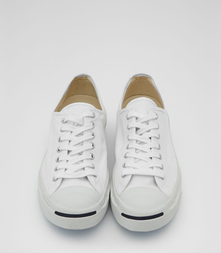 Mens White Jack Purcell Trainers - Reiss Jack Purcell Canvas