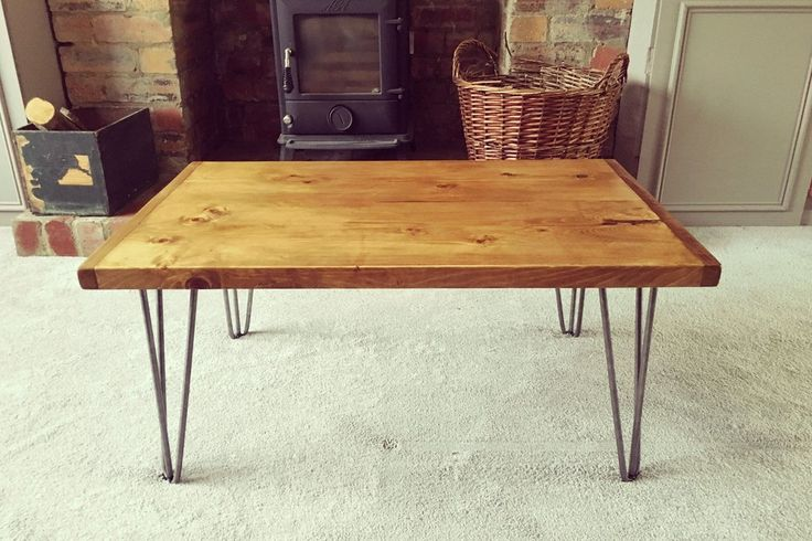 Industrial Hairpin Coffee Table *Free P