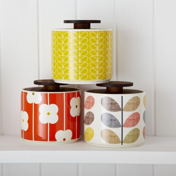 Orla Kiely 1L Storage Jar RED