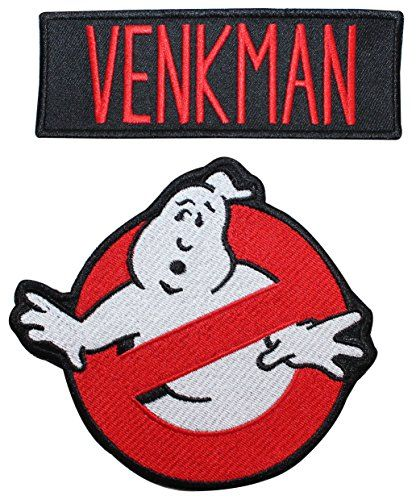 Ghostbusters Venkman Name Tag & No Ghost Embroidered Iron... https://www.amazon.com/dp/B00FN07NTS/ref=cm_sw_r_pi_dp_x_wGG3ybTHZZFD6