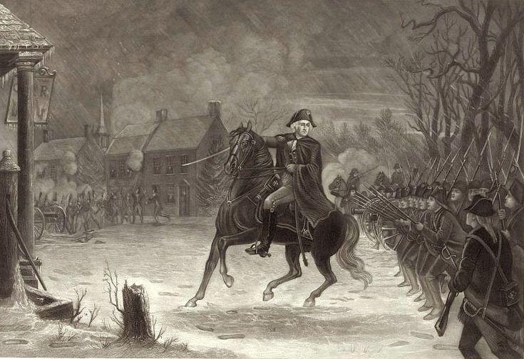 Battle of Trenton   Battle of Trenton George Washington To use with George Washington 's Socks by Elvira Woodruff