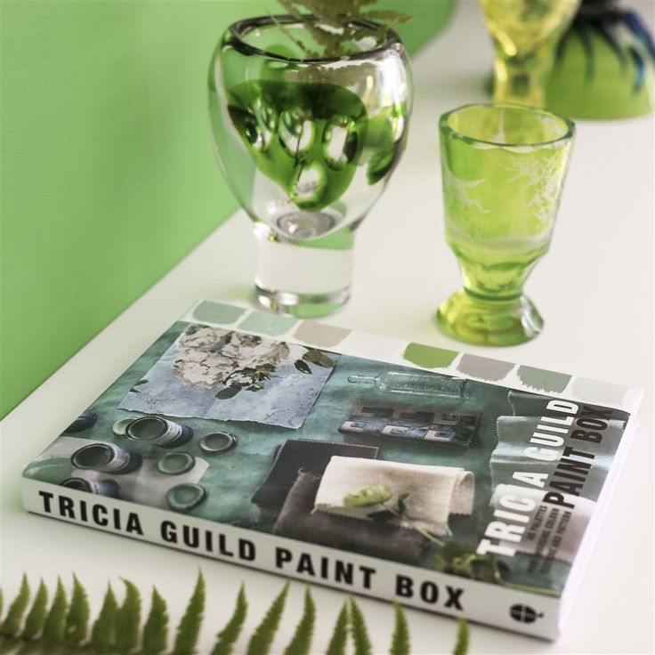 Paint Box by Tricia Guild  |  Designers Guild founder, Tricia Guild's fabulous new book showcases her ingenius ways of using colour in the home. #mustread #colour #interiordesign #designersguild #colourtherapy #paintbox #colourswatch #resourcestation #bookstation