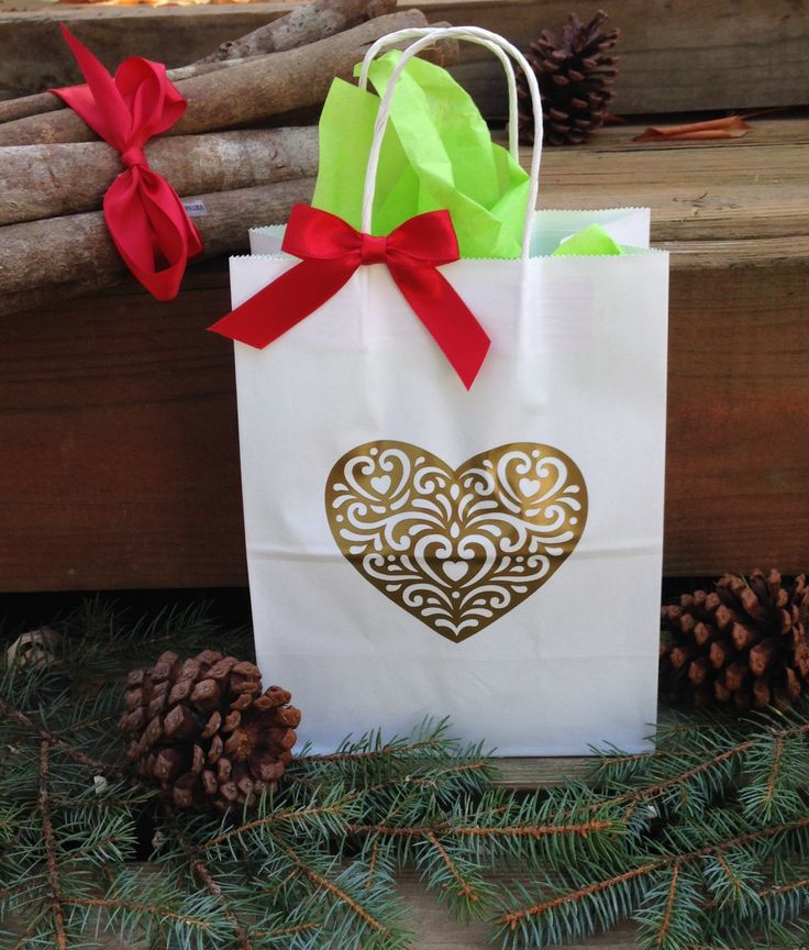 Holiday Gift Bags, Christmas Gift Bag, Custom Gift Bags, Favor, Party Gift, Set of 4, Ship 2-5 Business Days by TootYourHorn on Etsy