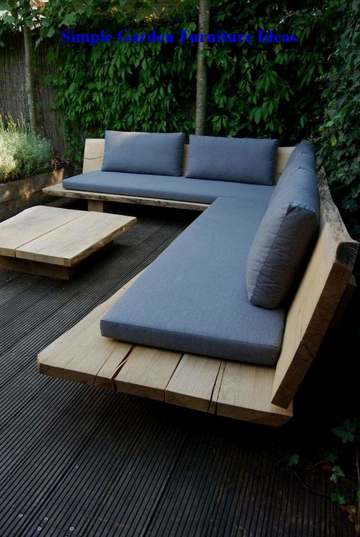 Most Affordable And Simple Garden Furniture Ideas Gardendecor