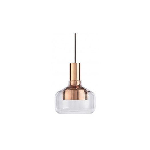 "LF-07 option // Blu Dot Trace Drum Pendant Light // $199 // 7.4"" dia"