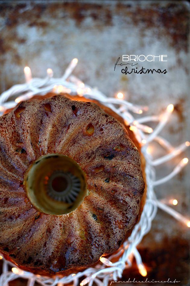 PANEDOLCEALCIOCCOLATO: Brioche for Christmas - Pan Brioche di Natale con uvetta e lievito madre