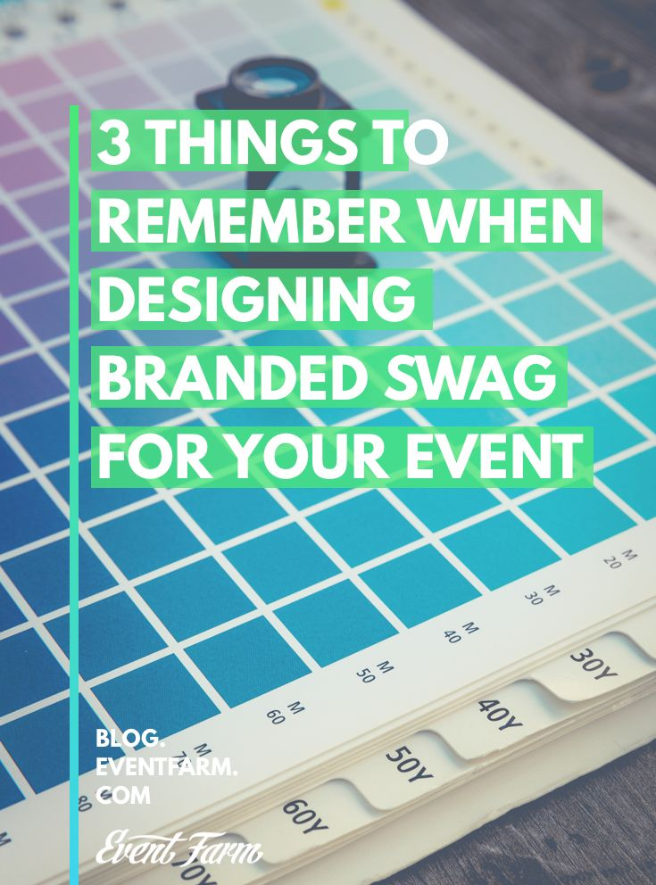 Your #event swag will be around long after your venue doors have closed—check out our three tips to design the best swag possible: http://hubs.ly/H04tG6N0 #EventProfs #EventMarketing