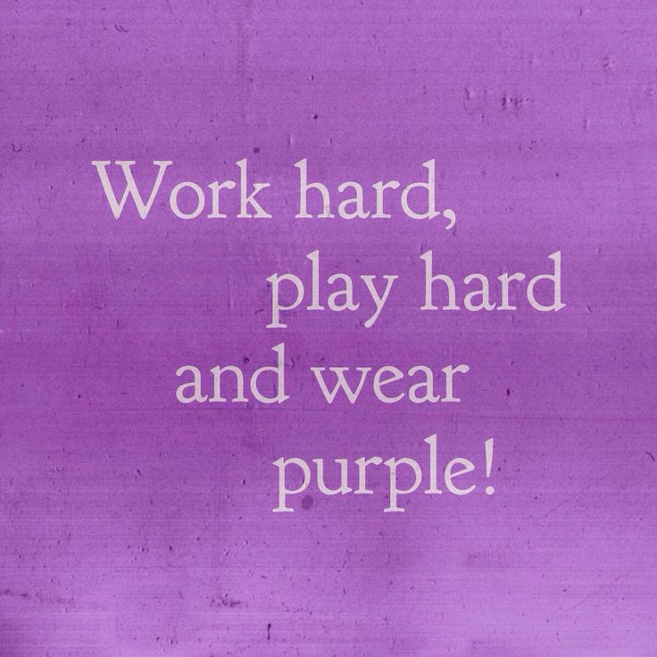 Purple Quotes: 17 Best Images About POSITIVELY, POWERFULLY PURPLE On