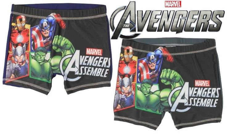 AVENGERS SWIM TRUNKS