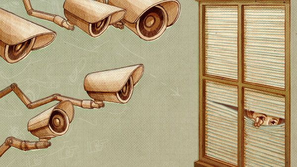 Seeking Online Refuge From Spying Eyes } NY Times 10/19