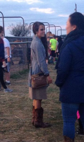 Jinger at the pumpkin patch.  Source: Duggar family news life is not all pickles and hairspray. Fb