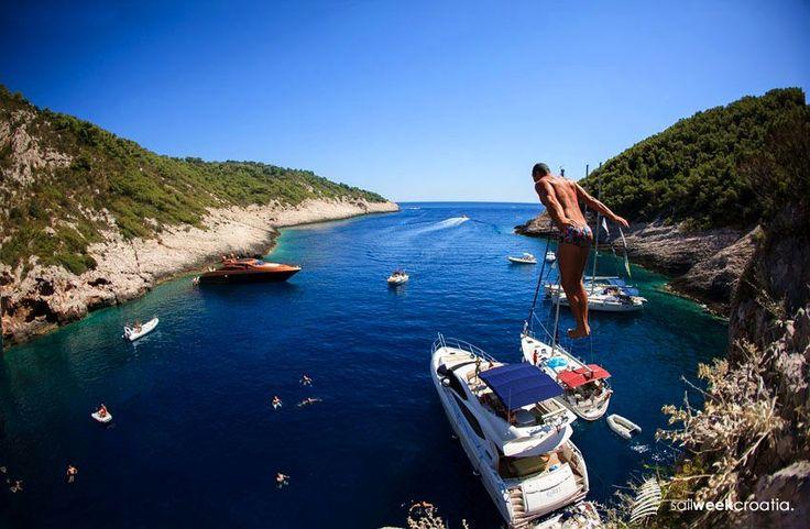Croatia's swimming water among cleanest in Europe (photo: SailWeekCroatia)