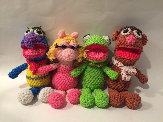 The Muppets Combo Play Pack Rubber Band Figures by BBLNCreations