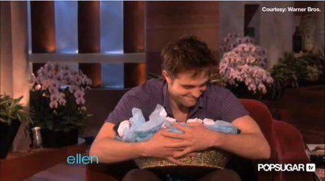 Rob loves Ellen underwear!
