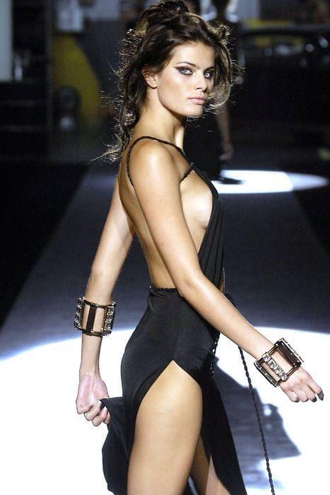 black dress. open back