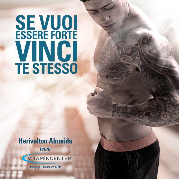 SE VUOI ESSERE FORTE, VINCI TE STESSO! #MotivationMonday Buon lunedì di allenamento a tutti!  => www.vitamincenter.it   #buonlunedì   #allenamento   #palestr   #frasi   #frasimotivazionali   #motivation   #motivationmonday   #motivationalquotes #fitness   #bodybuilding   #sport   #italia   #lunedì