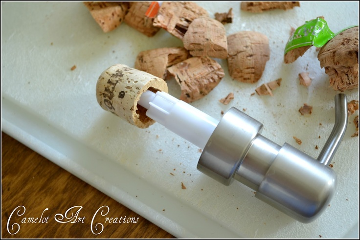 Camelot Art Creations: DIY Soap Pump Conversion for the Patron bottle