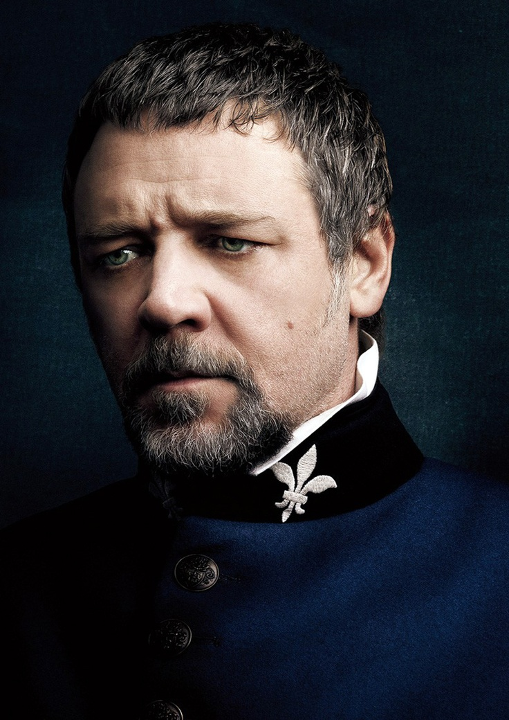 Russell Crowe as Javert. | Les miserables movie, Les ...