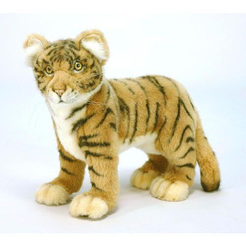 Hansa Tiger Cub - Standing - Hansa Toys - Lions & Other Big Cats - FAO Schwarz®