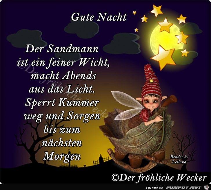 ein Bild für's Herz 'Gute Nacht Der Sandmann.jpg'