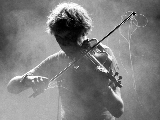 Yann Tiersen. In concert.