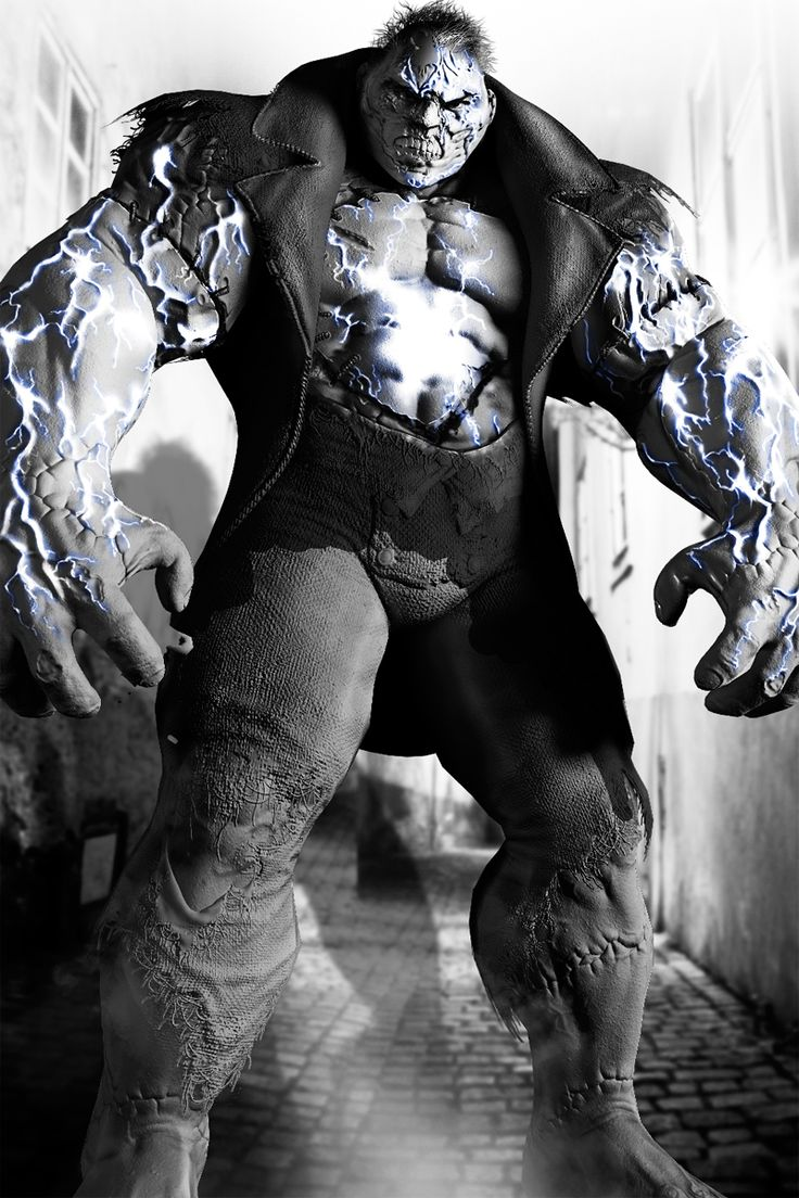 Batman Arkham City Promotion Art Solomon Grundy
