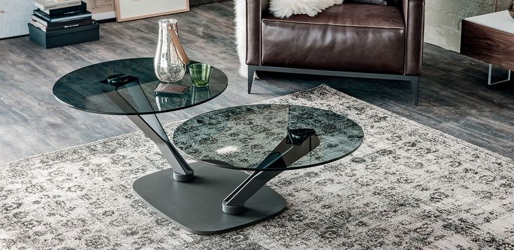 Cattelan Italia Viper coffee table by Emanuele Zenere
