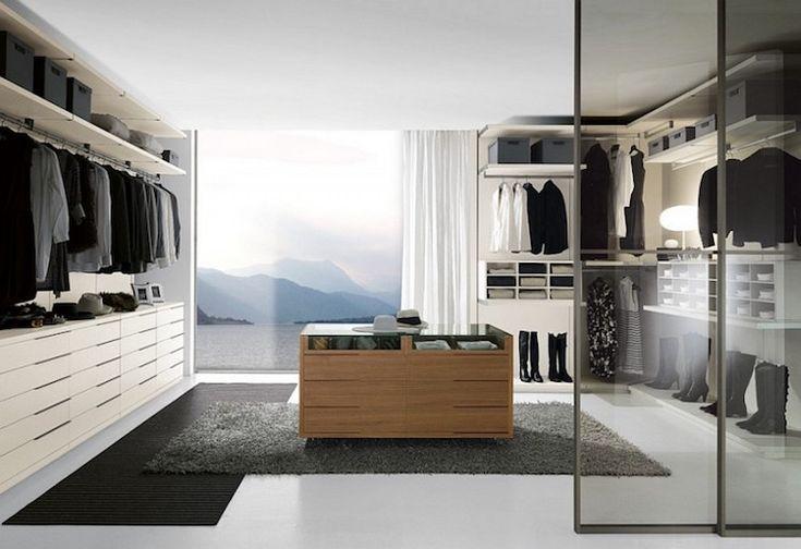 Aménagement dressing moderne– 55 idées design très classe ...
