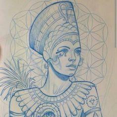 Egyptian Queen Tattoo   ... egyptian tattoos egyptian queens goddess tattoo ideas queens tattoo