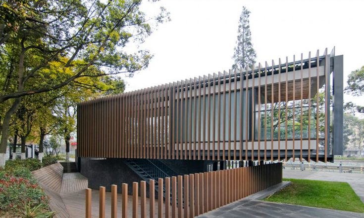 vector architects: riverside park pavilion, china