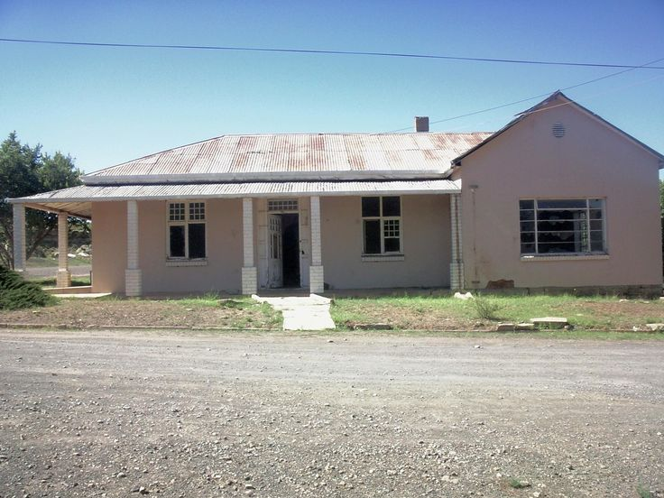 Abandoned House Steynsburg South Africa [OC][1920x250]