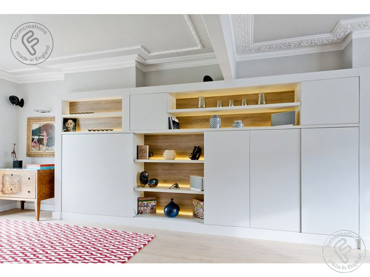 alcove cabinets and shelving - FormCreations:made to measure built in and fitted wardrobes,alcove cabinets,shelving,TV media units and storage solutions