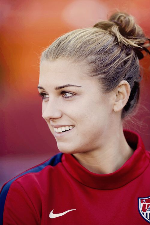 Alex Morgan, delantera USWNT.
