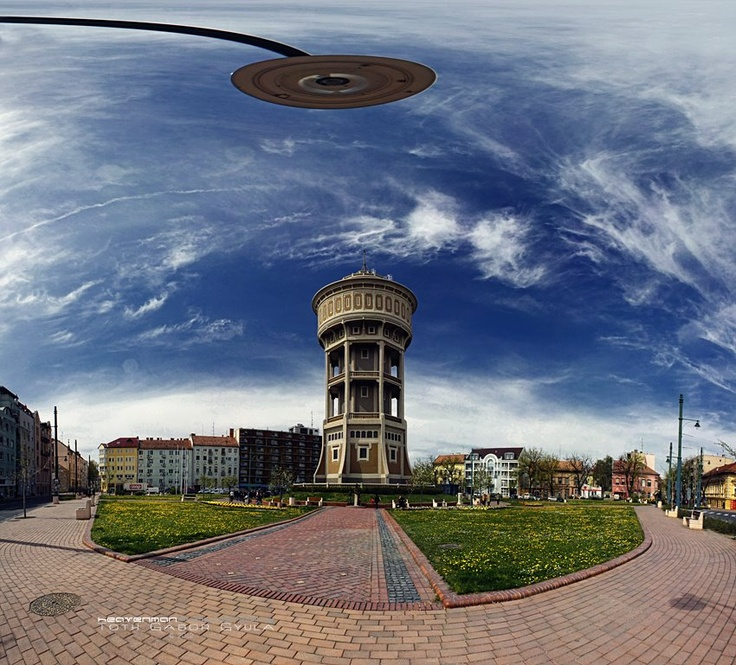 Water tower, Szeged, Hungary