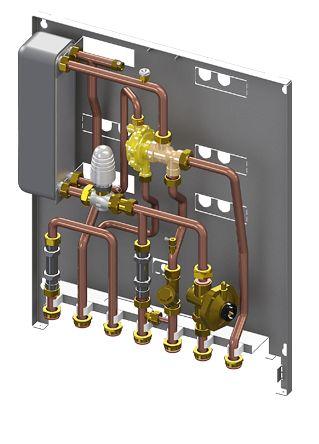 Lovato macuk rsd un modulo satellite ad incasso e for Connessioni idrauliche di acqua calda sanitaria