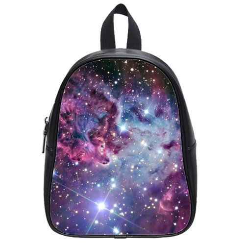 Pretty Speciallymade Galaxy Space Universe Theme Children Backpacks With Black or White Color *** Find out more about the great product at the image link.