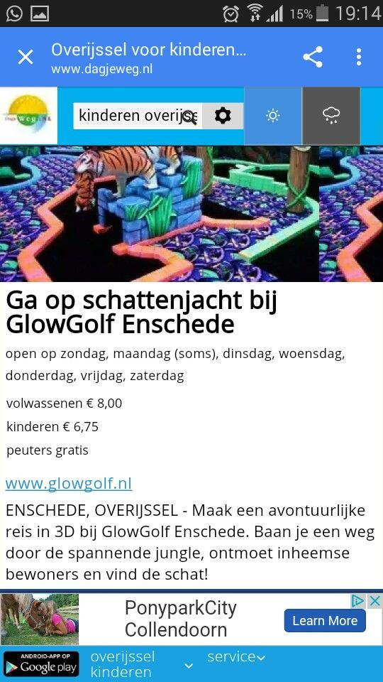 GlowGolf.nl Enschede