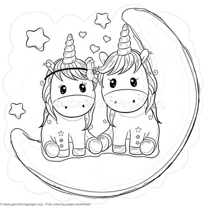 Pin by Sue Jones on images | Unicorn coloring pages, Cute ...