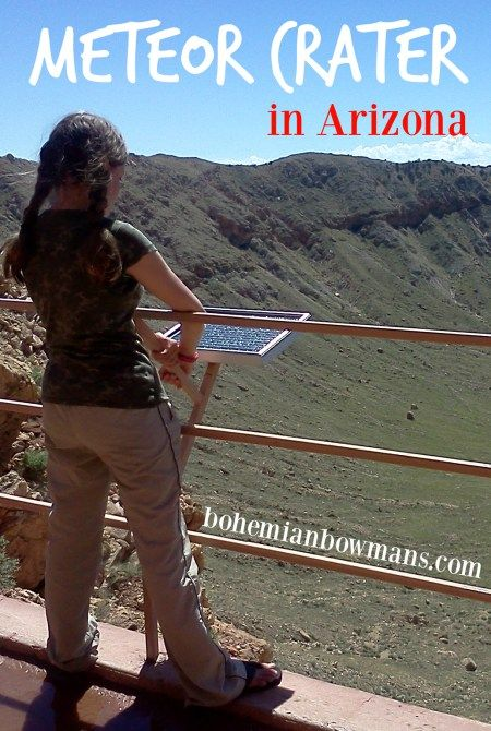Meteor Crater in Arizona - an epic road side attraction.