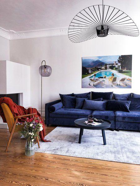 Wunderbar Für Mehr Farbe In Der Wohnung: Blaue, Grüne Und Gelbe Sofas | Wohnzimmer |  Sofas, Wohnung Einrichten, Wohnzimmer