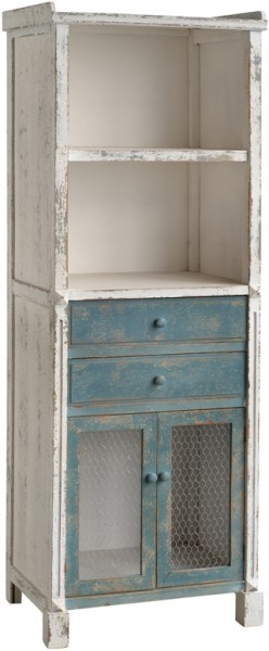 French Farmhouse Bookcase. Would be perfect for cookbooks