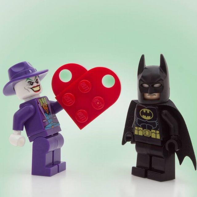 Joker, Batman e San Valentino
