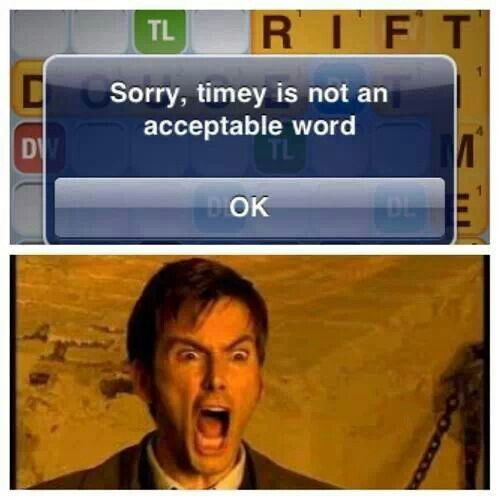 Timey is not a word, we disagree - RaggedyFan.com