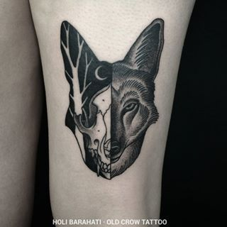 coyote tattoo - Google Search                                                                                                                                                     Más