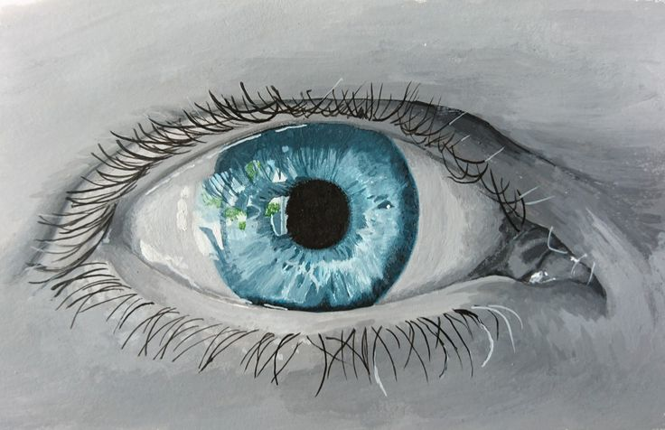 My eye self portrait