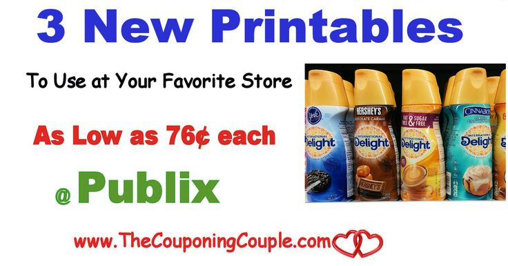 New International Delight Creamer Printables ~ Plus Publix Deals. Get these printed now while they are there to use at your favorite store! *  Click the link below to get all of the details ► http://www.thecouponingcouple.com/new-international-delight-creamer-printables-plus-publix-deals/ #Coupons #Couponing #CouponCommunity  Visit us at http://www.thecouponingcouple.com for more great posts!
