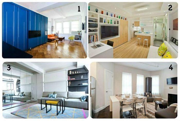 Ejemplos de reformas de apartamentos pequeños tipo loft..