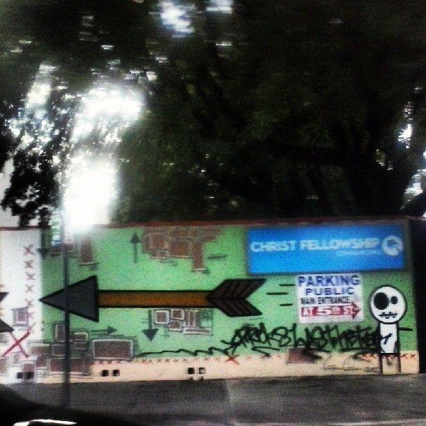 Street art, downtown