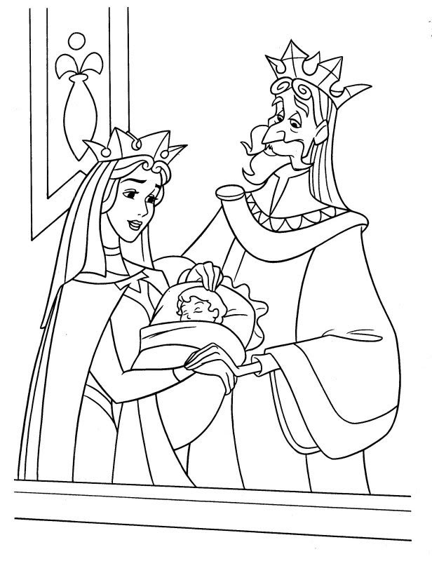 289 best Sleeping Beauty images on Pinterest Drawings, Coloring - best of coloring pages of king and queen